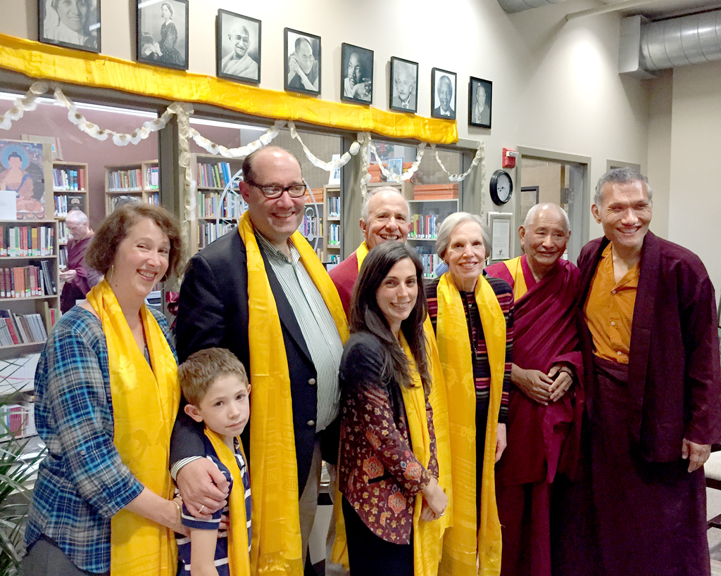 James A. Blumenthal Library Opening at Maitripa College